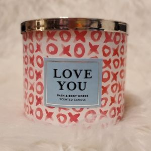 Love You 3-Wick Candle